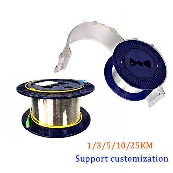 1/2/3/5KM 9/125 G652D singlemode Single Bare fiber disk OTDR measuring Optical Fiber Cable tester extension line - discount item  8% OFF Communication Equipment