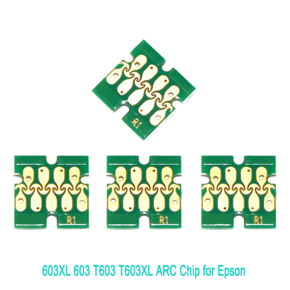 Vilaxh  ARC Chip 603XL 603 T603 T603XL for Epson XP-2100 XP-2105 XP-3100 XP-3105 XP-4100 XP-4105 WF-2810 WF-2830 WF-2850 WF-2835