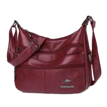 Nova moda sacos de couro macio bolsas de ombro das mulheres bolsas de luxo bolsa feminina designer crossbody sacos para as mulheres 2021 saco do mensageiro 1