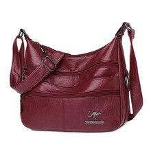 New Fashion Soft Leather bags women shoulder Bags Luxury Handbags Women Bag Designer Crossbody Bags for Women 2021 Messenger Bag