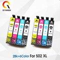 Совместимость 502XL T502XL патрон чернил для принтера EPSON T-502XL E-502XL заменить для EPSON Expression Home XP-5100 XP-5105 принтер