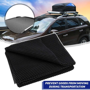 100x90CM Car Top Roof Rear Trunk SUV Cargo Luggage Baggage Bag Anti-Slip Mat Cushion Padding Foldable Mats Cover image