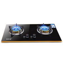 цена на Household Fire Stove Embedded Gas Stove Aluminum Alloy Edging Cooker Thermoelectric Flameout Protection Cooktop