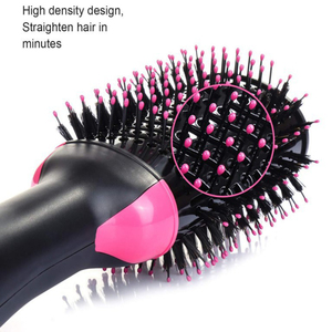 Image 5 - One Step Haircomb Brush and Volumizer Blow straightener and curler salon 2 in 1 roller Electric Hot Air Curling Iron comb