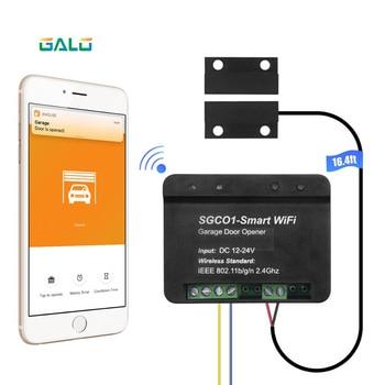 Relay Wifi Switch Remote Control Garage Door Opener Receiver Wifi Smart Receiver Galo Gate Opener Remote Control Door Access