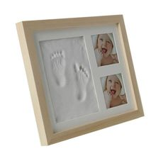 Get more info on the Baby Children Kids Hand Finger Foot Print Clay Mud Set Photo Picture Keepsake  Frame Kit Gift E65D