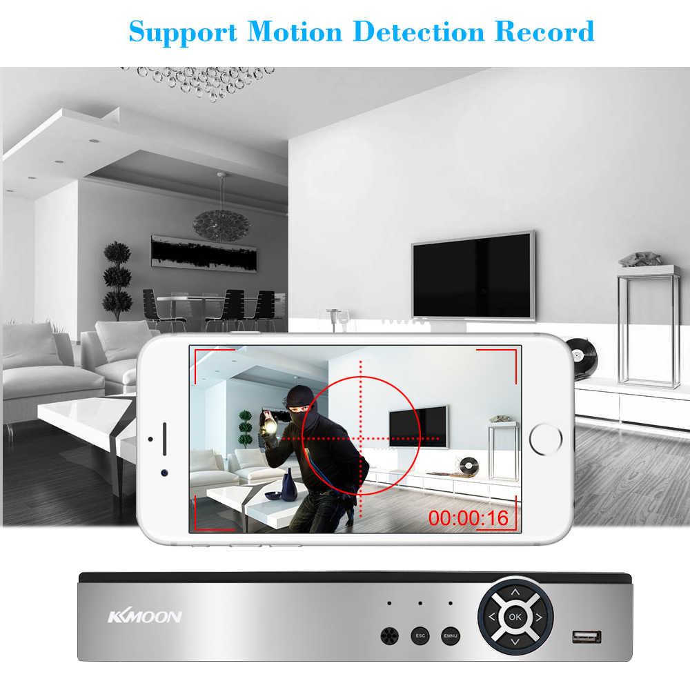 Kkmoon 4CH dvr 1080 1080p H.264 4CH デジタルビデオレコーダーと P2P 電話リモートモーション検出 cctv dvr レコーダーホームセキュリティ