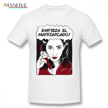 Nairobi The Matriarchy Begins Empieza El Matriarcado  La Casa De Papel t shirt Money Heist T Organnic Cotton Homme