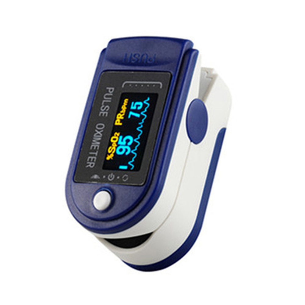 Finger Pulse Oximeter Portable Blood Oxygen Heart Rate Saturation Meter With Sleep Monitor Pulse Oximeter Fingertip Outdoor Home