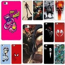Fundas de silicona suave para teléfono móvil TPU para Huawei P8 P9 P10 P20 P30 Mate 10 Lite 2017 Pro Honor 7 7A 7X9 10 héroe icono arte abstracto