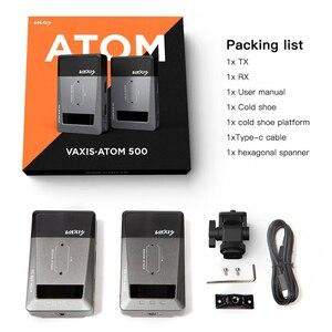 Image 5 - Vaxis ATOM 500 sans fil émetteur récepteur 1080P HD double HDMI Image vidéo sans fil système de Transmission photographie caméra