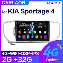 Autoradio Android, lecteur multimédia, Audio, 2 go/32 go + DSP + IPS, avec navigation GPS, 2 din, dvd, pour KIA Sportage 4 2016, 2017, 2018