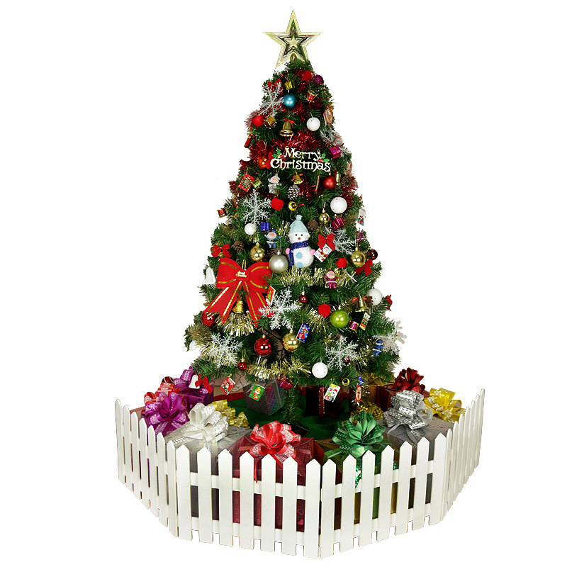Luxury Encrypted Optical Fiber Christmas Tree LED Colorful Luminous Christmas Tree Package Merry Christmas Decoration - 2