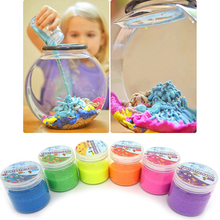 85g Not Wet Water Magic Sand Toys for Children Colorful Mars Space Modeling Sand DIY Art Toys Educational Novelty Magic Toys