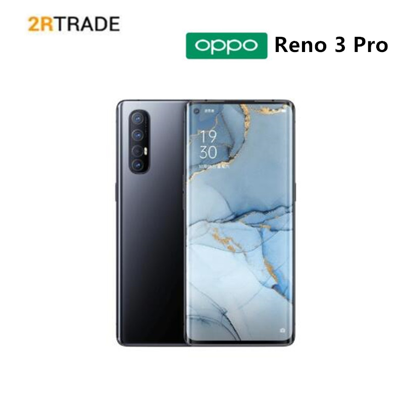 OPPO Reno 3 Pro AMOLED Snapdragon 765G 5G MobilePhone 12G RAM 256 6.5 inch 90HzVOOC Flash Charge 4.0 in screen NFC Google play|Cellphones| - AliExpress