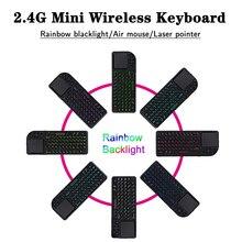 Mini Handheld 2.4G RF wireless Keyboard