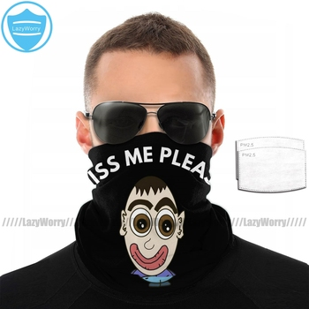 Purge Kiss Me Mouth Face Mask Kiss Me Please Facial Mask for Adult Pretty Fashion with Filters Mask недорого