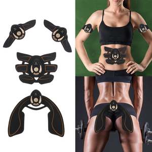 Fitness Massager Buttocks ABS Machine EMS Hip Abdominal Exerciser Muscle Stimulator Trainer Electric Vibrating Slimming Belt