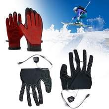 Fünf-finger Handschuhe Heizung Pads Lithium-Batterie Angetrieben Drei-getriebe Temperatur Anpassung Heizung Pad Für Winter Radfahren Skifahren