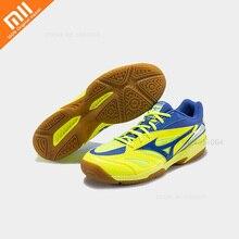 Xiaomi Mizuno WAVE GATE SKY Мужская и женская обувь для бадминтона противоскользящие кроссовки с резиновой подошвой амортизирующая спортивная обувь для тренировок