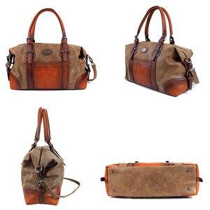 Image 3 - IMYOK Womens Vintage Leather Boston Bag Luxury Brand Designer Handbags Ladies Hand Shoulder Bags for Women 2020 Hot Sale Bolsos