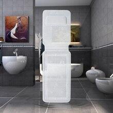 Полный тела Подушка для ванной коврик для ванной Подушка нескользящий коврик для ванной вакуумный держатель на присоске, душ коврики Антибактериальная подушка для ванны 36*125 см