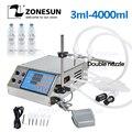 ZONESUN Электрический насос с цифровым управлением  разливочная машина для жидких Бутылок 0 5-4000 мл для жидких парфюмерных соков  эфирное масло