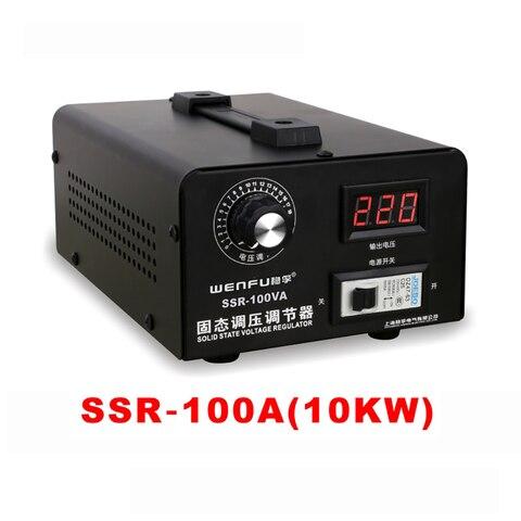 Regulador de Tensão de Estado Controlado de Silício Regulador de Tensão Monofásico Sólido Eletrônico 100a Ssr-100a y 220v ac