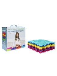 Massage orthopedic Mat puzzle ortodon, set universal , 8 puzzles