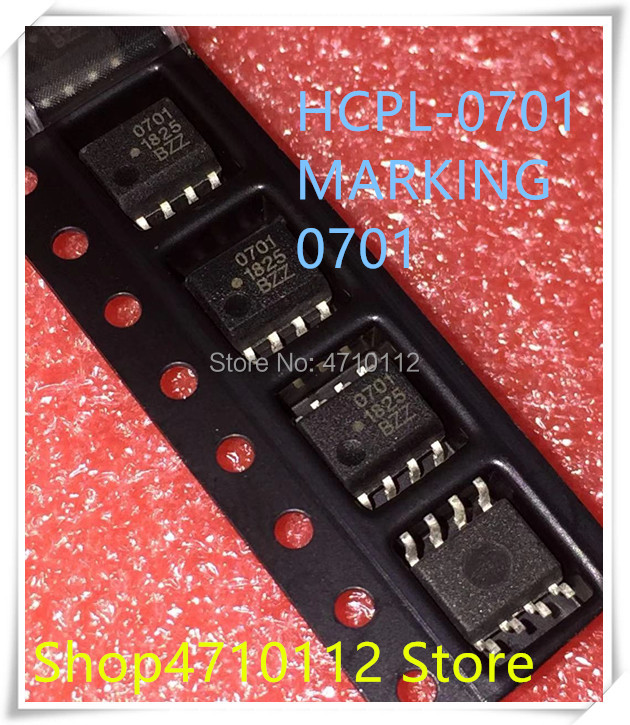 NEW 10PCS/LOT HCPL-0701 HCPL-0701-500E HCPL0701 MARKING 701 SOP-8 IC