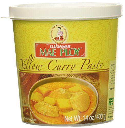 Mae Ploy Gelbe Currypaste 400g