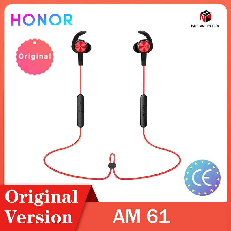 Global version Huawei Honor xsport AM61Origina Earphone Bluetooth Wireless connection with Mic In-Ear style Charge easy headset