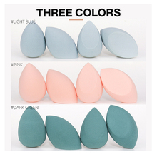 4pcs Cosmetic Sponge Dry And Wet Dual-use Puff Powder Makeup Foundation Tools