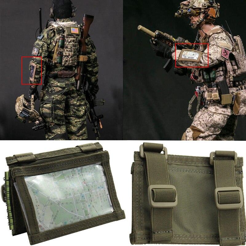 Nswdg тактическая тренировочная команда Tecord Arm, водонепроницаемая сумка для карт 500D DuPont Cordura Fabric