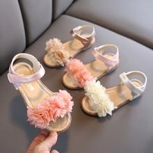 Kids Flowers Sandals New Summer Girls Shoe Children