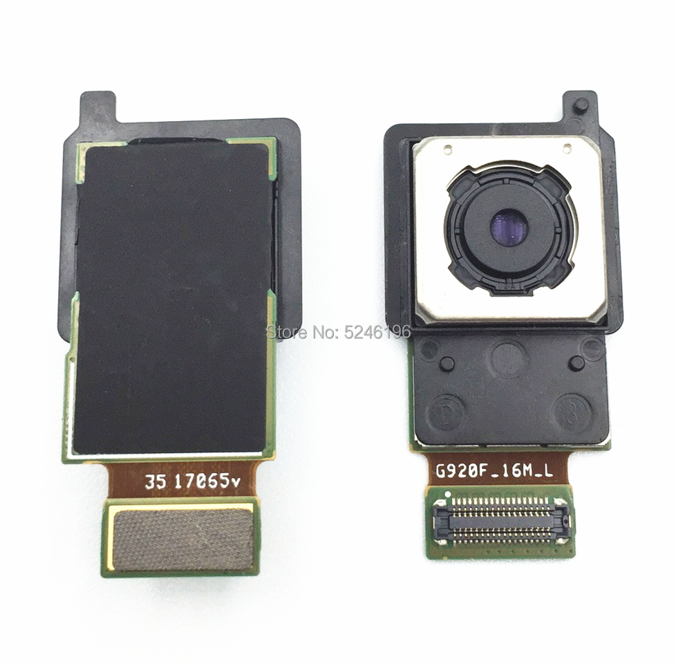 For <font><b>Samsung</b></font> Galaxy <font><b>S6</b></font> G920 G920F G920FD G920A original rear large main <font><b>camera</b></font> <font><b>module</b></font> flexible cable replacement parts image