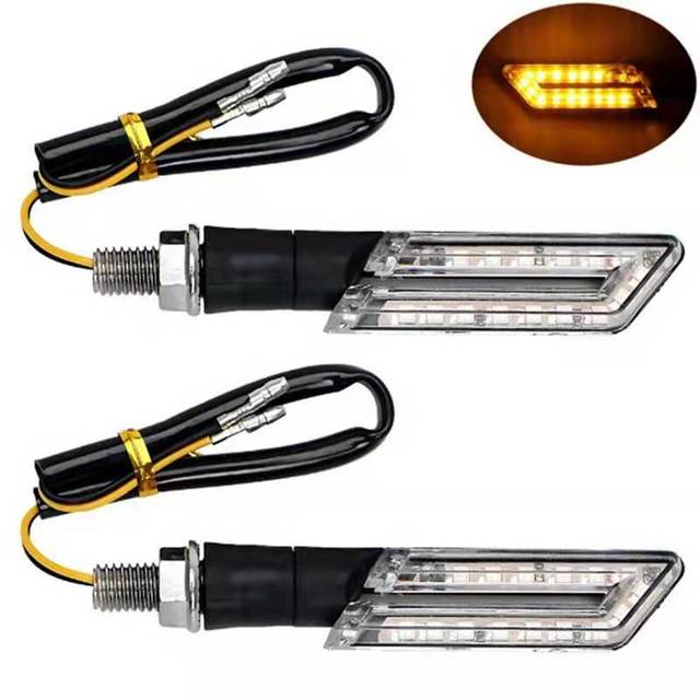 Blade Shaped 15 LED Indicators Automobiles & Motorcycles 061330ff83c078d1804901: Amber