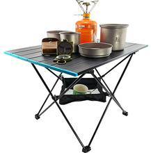 Table Folding Picnic Dining Outdoor Aluminum Ultralight for Camping BBQ