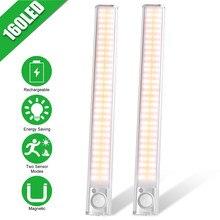PATIMATE – lumière de placard 160 ° avec capteur de mouvement PIR, rétro-éclairage pour armoire, garde-robe, placard de cuisine, chambre à coucher