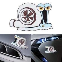 Funny Car Decal Sticker Decor-Accessory Turbo Snail Car-Styling Cartoon Bumper Window-Trunk