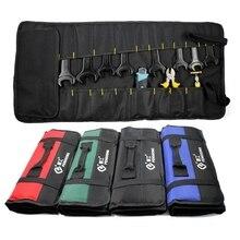 Многофункциональный складной ключ из ткани Оксфорд, сумка для хранения инструментов, Карманный чехол для инструментов, портативный чехол-Органайзер