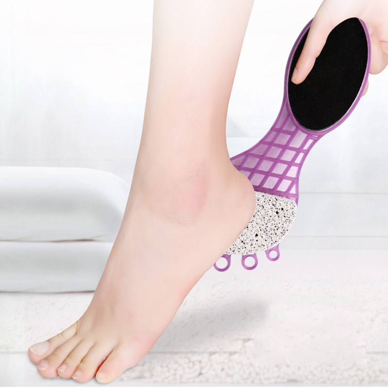 Stainless Steel Foot Rasp Callus Dead Skin Remover File Exfoliating Pedicure Foot File Foot Care Tool