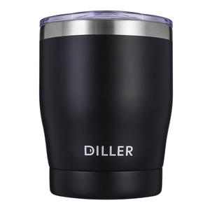 Diller Drinkware 304 Stainless Steel Thermos Men Women Sport Formal Vacuum Flasks Coffee Bottle FDA CE 300ml No.MLH8769