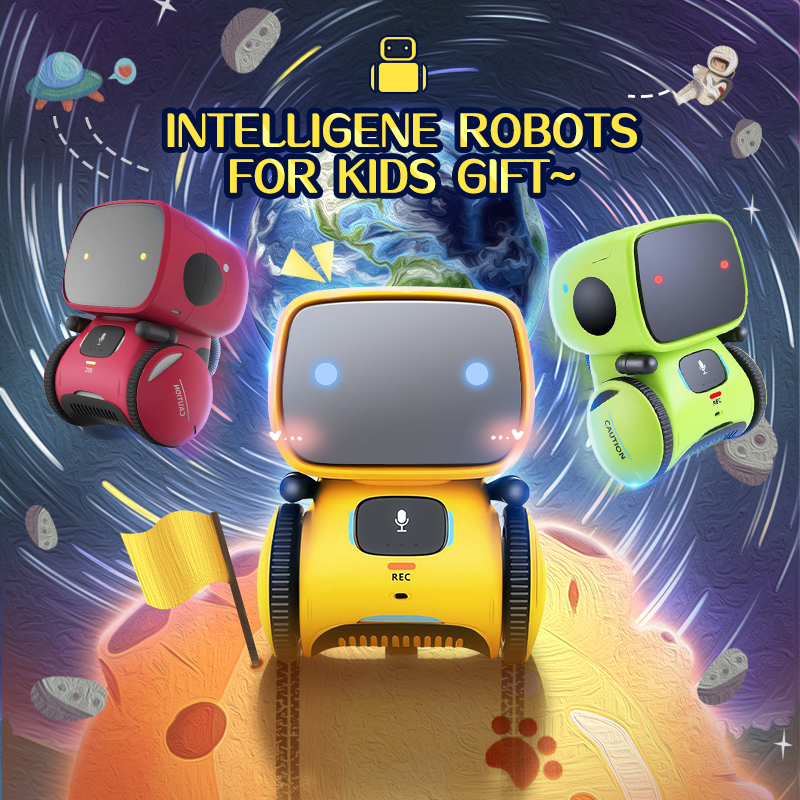 Russian Language Toy Cute Robot Voice Control Dance Sing Repeating Recorder Touch Control Intelligent Robot Gift For Kids