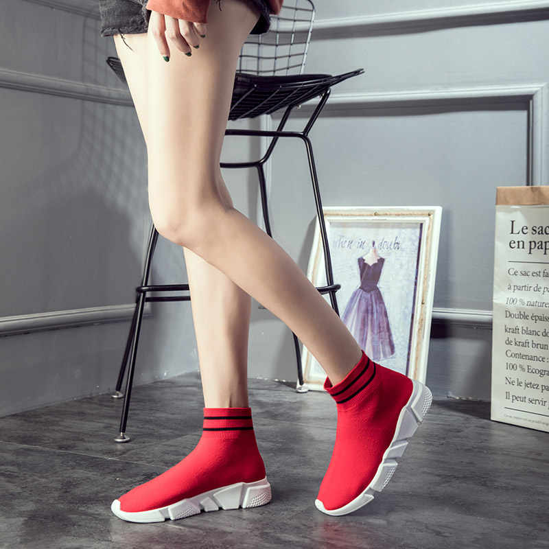 Hundunsnake عالية الجودة تشغيل الجوارب أحذية رياضية النساء الرجال الأحمر أحذية رياضية امرأة متماسكة المرأة احذية الجري رياضة رياضة الركض T661