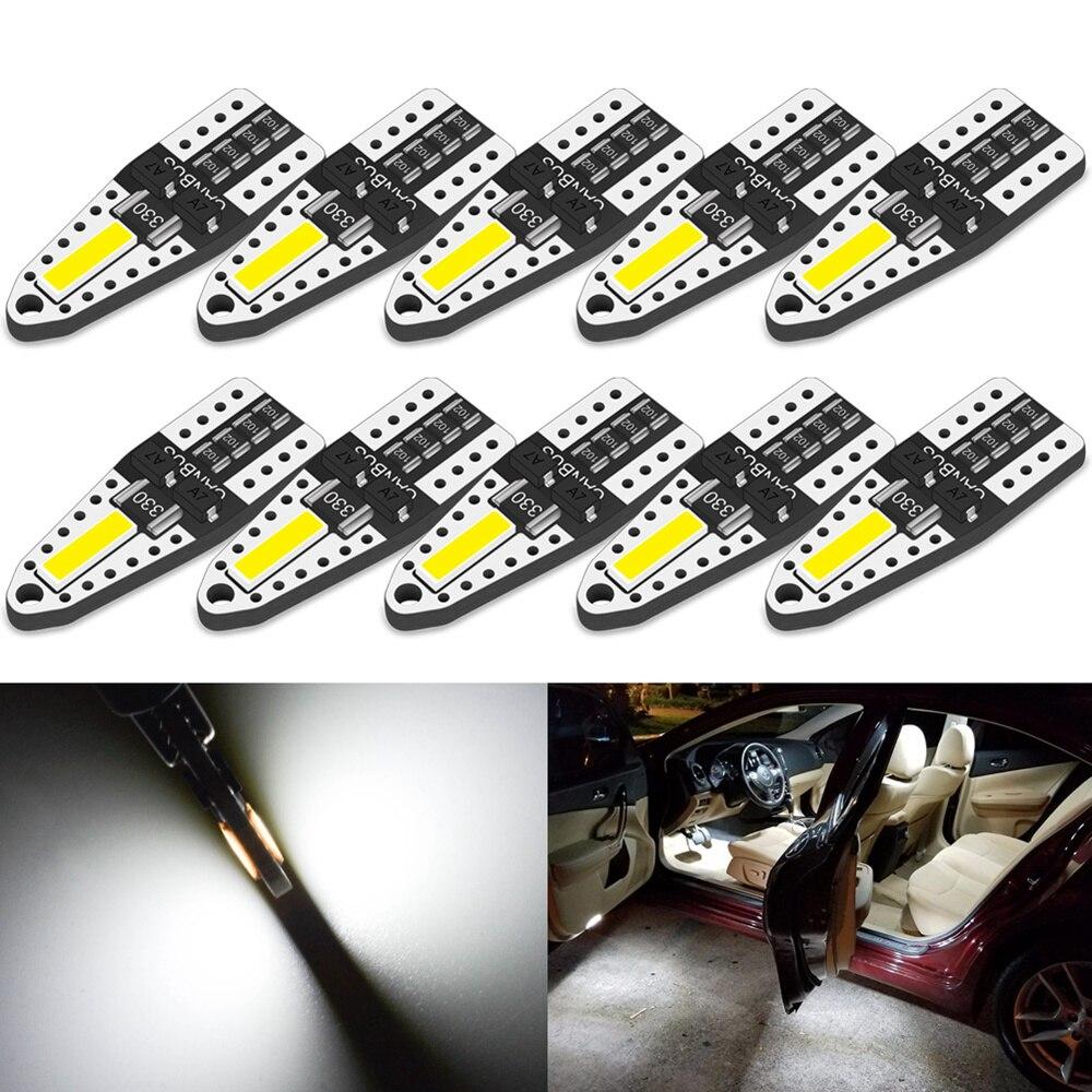 10 t10 luz interior do carro w5w led para honda civic 2018 crv 2008 ajuste jazz nc750x cidade accord hrv cr-v spoiler elemento insight mdx