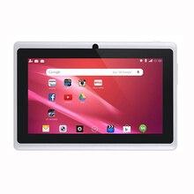 7 pollici Bambini Tablet Android Quad Core Dual Fotocamera WiFi Gioco Educativo Regalo per le Ragazze Dei Ragazzi