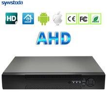 AHDM DVR 4 Canal Canal 8 AHDNH CCTV AHD DVR Híbrido DVR/1080 P NVR 4in1 Gravador De Vídeo Para AHD Camera Câmera IP Câmera Analógica