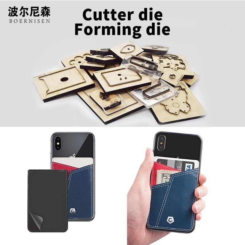 SMVAUON drewniane wykrojniki Diy 2020 osobowość torba na karty umiera Fille Scrapbooking nadaje się do maszyny do cięcia