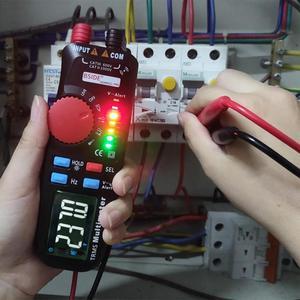 Multímetro digital para bside alta precisão adm92clpro caneta tipo multímetro verdadeiro rms multi-funcional eletricista mesa universal